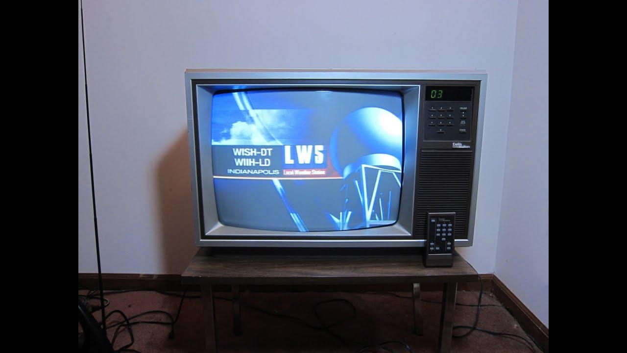1987 Curtis Mathes 19 Portable TV USA