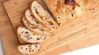 Supreme Pizza Bread Recipe NO MIXER! - Laura Vitale - Laura in the Kitchen Episode 923