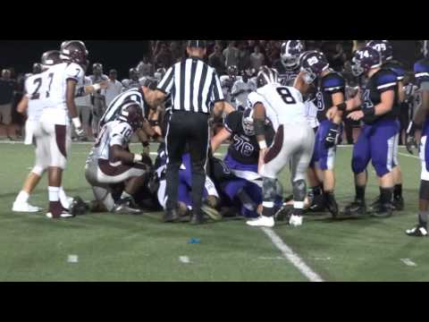 Aliem Shaw fumble recovery