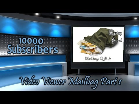 MInd and Magick: 10000 Subscribers: Video Viewer Mailbag Part 1