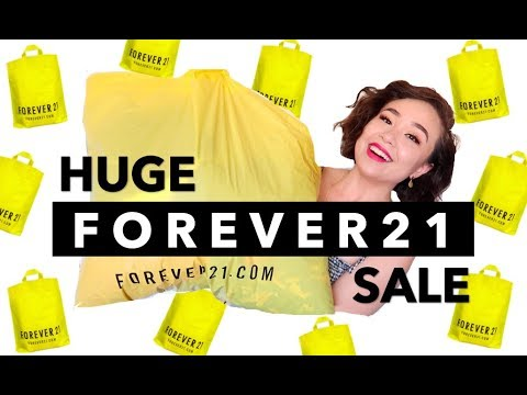 I BOUGHT 20 ITEMS WITH $80 | Huge Forever 21 Haul