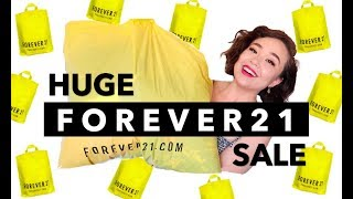 I BOUGHT 20 ITEMS WITH $80   Huge Forever 21 Haul