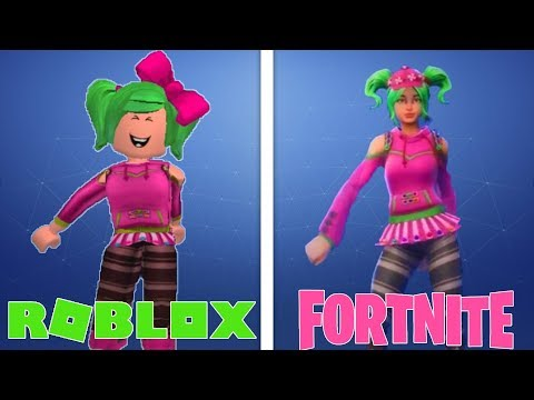 DANÇAS DO FORTNITE NO ROBLOX !!!