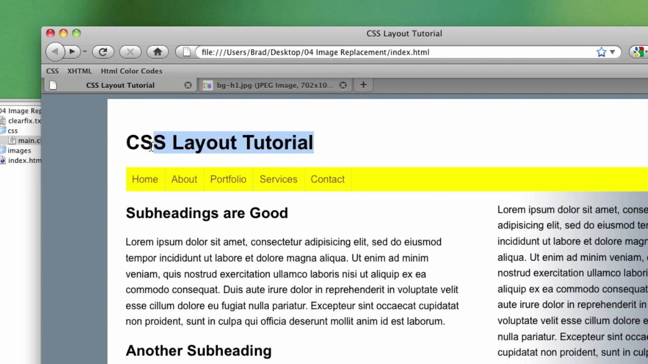 how to make background image in css