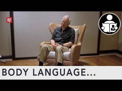 Body Language: Ex. Malaysia PM Najib Razak And 1MBD Gifts
