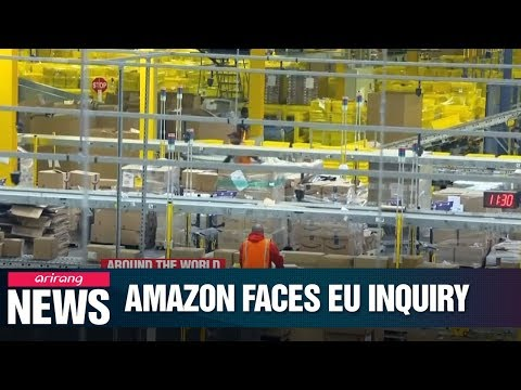 EU probe will look into Amazon's business practices to see if it broke anti-trust rules