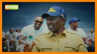 DP Ruto meets musicians