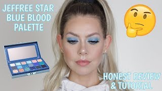 😥WHY?! HONEST JEFFREE STAR BLUE BLOOD REVIEW + TUTORIAL | BrittanyNichole