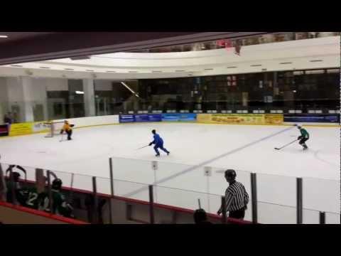 Singapore Ice Hockey League 25 Nov 12 Div 2 SIHA vs Mamachin
