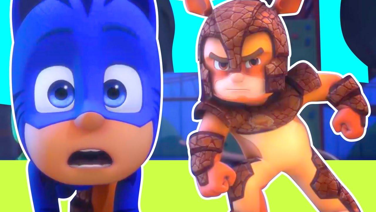 Heroes en Pijamas Español 2020 - la Super Fuerza de Armadylan - Dibujos Animados Pj Masks