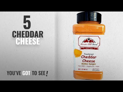Top 10 Cheddar Cheese [2018]: Cheddar Cheese Powdered (300 Grams) Easy Ingredient And Savory