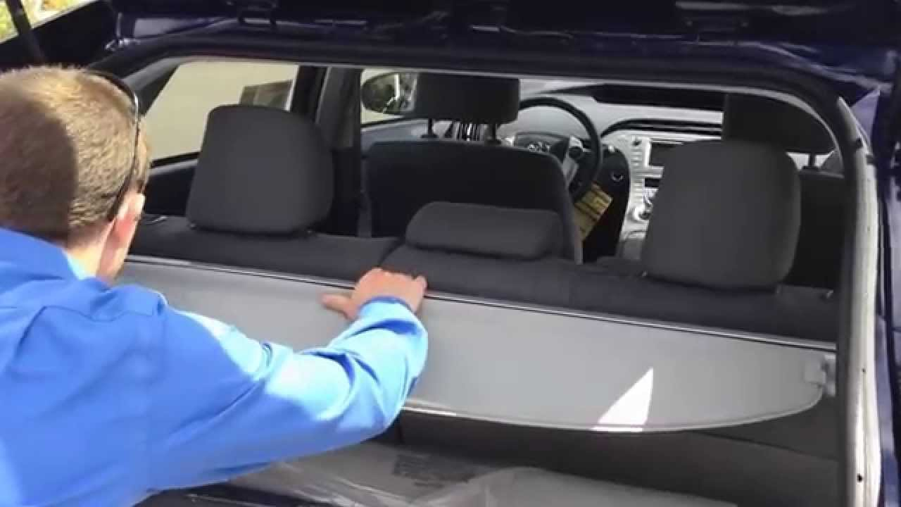 Hanlees Davis Toyota >> 2014 Toyota Prius Trunk Space - YouTube