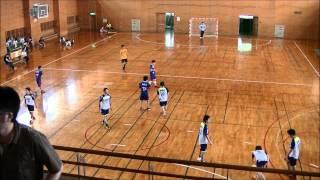 【ハンドボール試合動画】2015年 神奈川県社会人リーグ 慶丘会 VS SHC(後半)