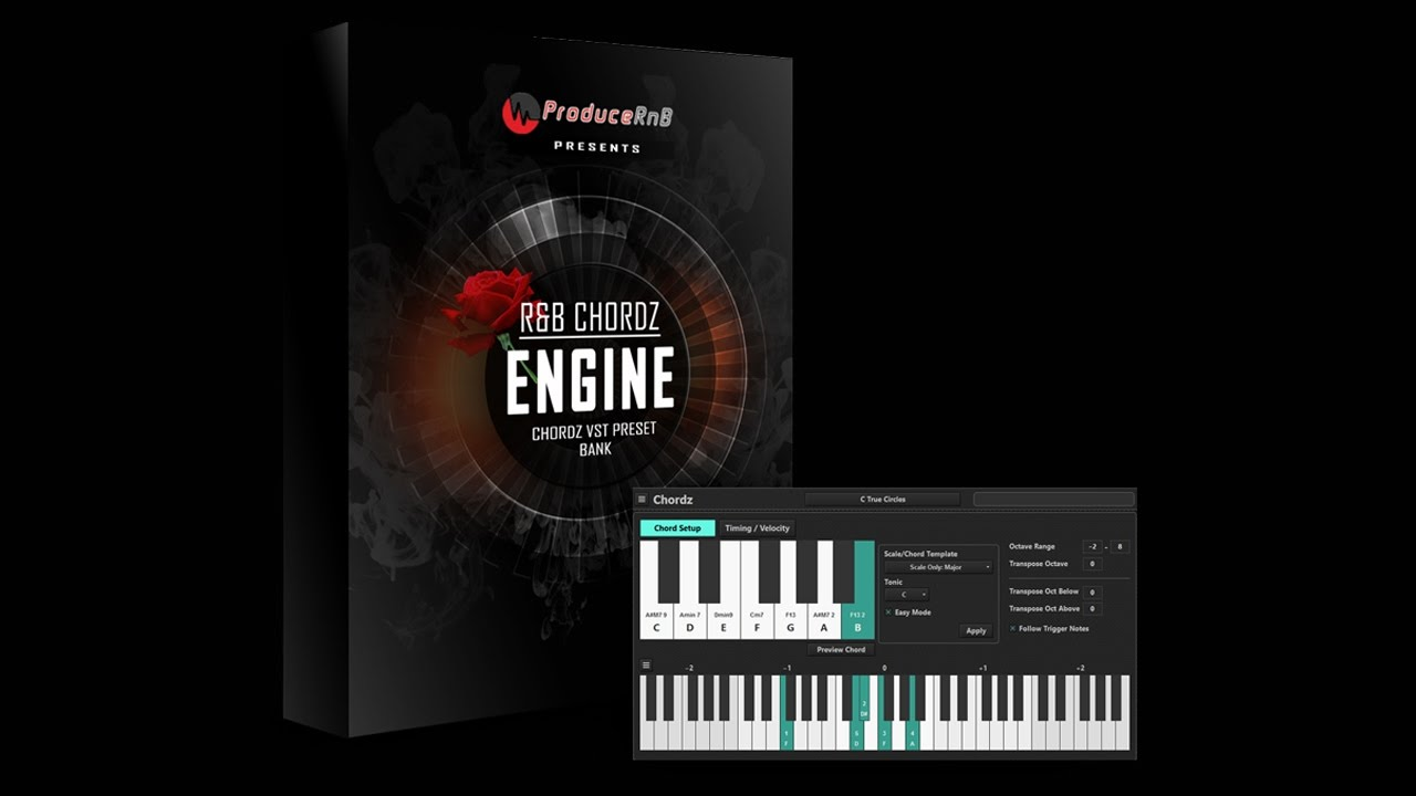 Easily play Awesome CHORDS with one Finger using a Chord