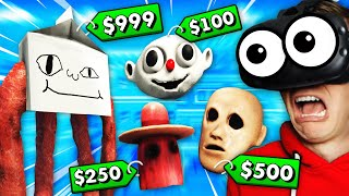 Selling WORLD'S SCARIEST MONSTERS In VR (Weaponry Dealer VR Funny Gameplay)