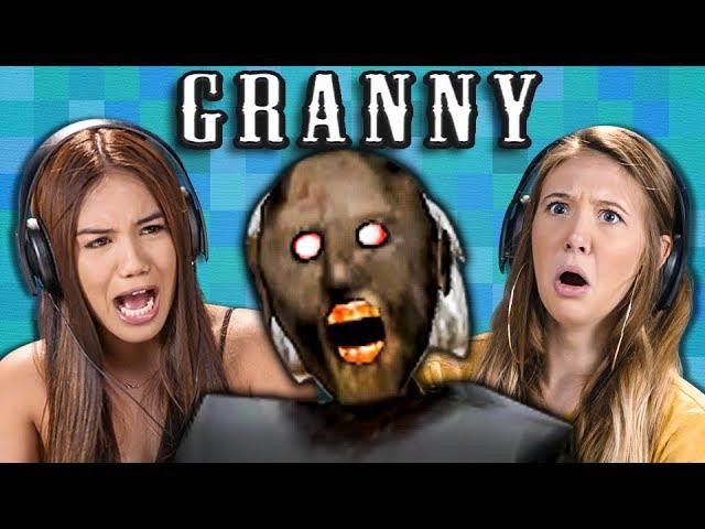 granny-horror-game-teens-react-gaming