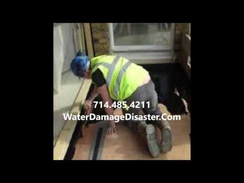 Water Damage Repair  Orange CA 714-485-4211 Cleanup Services