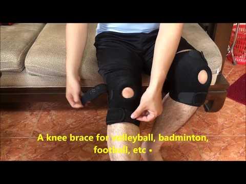 Neoprene Knee Support Review | Knee Brace for Running, Meniscus Tear, Arthritis, Basketball, Golf