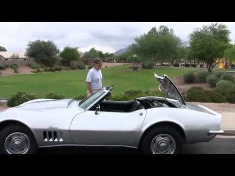 1968 Chevrolet Corvette Stingray Convertible Ragtop