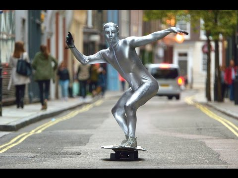 SILVER SURFER PRANK LONDON