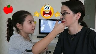 Маргарита делает мне макияж / Makeup Challenge / DAUGHTER DOES MY MAKEUP