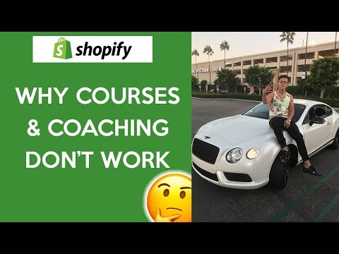 THE TRUTH HURTS... Drop Shipping Courses Don't Work