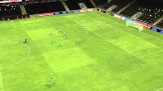 Wehdat 1 - 0 Salgaocar - Shelbayeh
