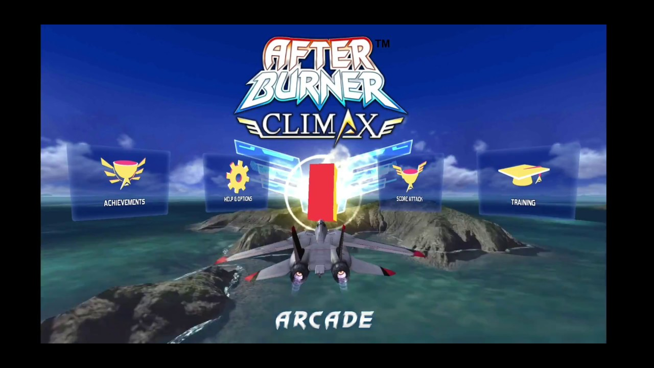 Afterburner Climax android version gameplay galaxy s8