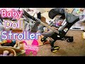 Silicone Reborn Baby Doll Stroller & Carseat Like a Joovy!