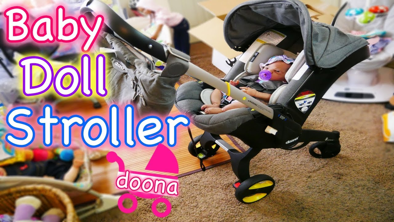 Toy Buggy With Car Seat Silicone Reborn Baby Doll Stroller Carseat Like A Joovy