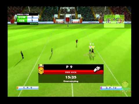 Gaelic Games Football PS2 Multiplayer Gameplay (SCEE / I R Gurus) Playstation 2