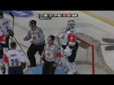 Champions Hockey League: Sheffield Steelers (GBR) - HV71 Jönköping (SWE) (2016.08.27)