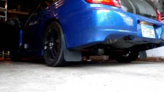 2002 vf34 wrx straight pipe no muffler