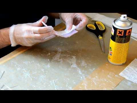Appliquer la fibre de verre (étape 3) - Armure MK7 Iron Man