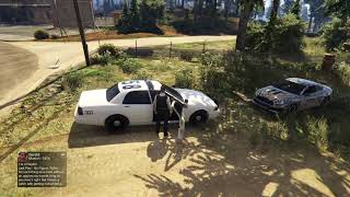 GTA 5 Online Gameplay. San Andreas Roleplay Group Gameplay