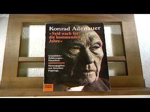 Konrad Adenauer 1876 1967 – German Chancellor post WWII