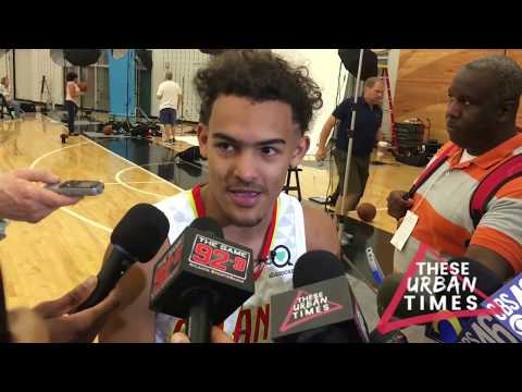 Trae Young Talks ATL Hawks Training Camp, the 2018-19 Season, Jeremy Lin, Baker Mayfield & More
