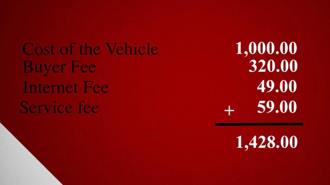 The Secret About Iaai Prices Iaai Fees The Car Blacklist