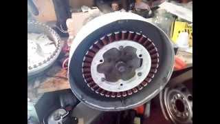 генератор для ветряка из мотора стиральной машины LG