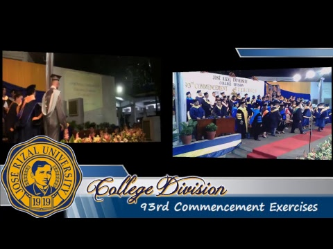 JRU College Division 93rd Commencement Exercises Day 2