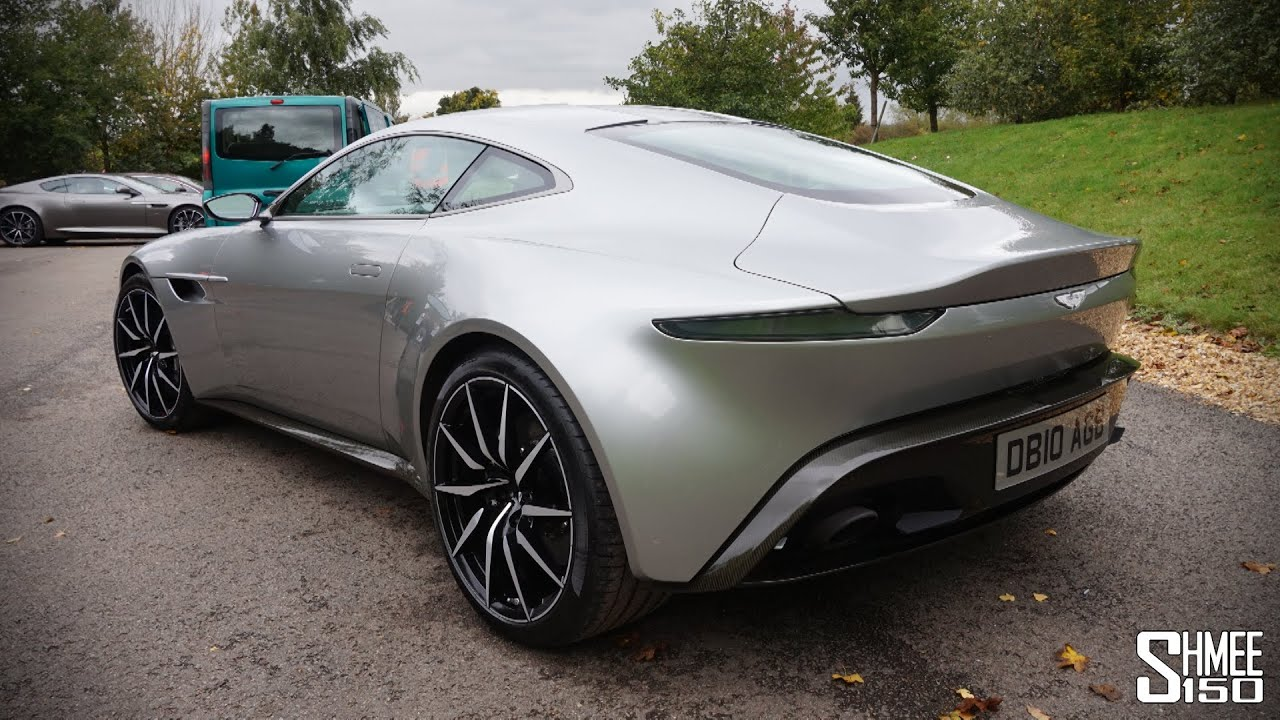 in-depth look: aston martin db10 from spectre - walkaround, onboard