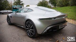 IN-DEPTH LOOK: Aston Martin DB10 from SPECTRE - Walkaround, Onboard Ride