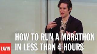 Marketing Speaker Adam Alter: How to Run a Marathon in Fewer Than 4 Hours