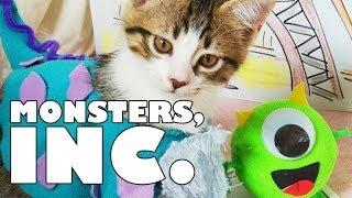 Disney Pixar's Monsters, Inc. (Cute Kitten Version)