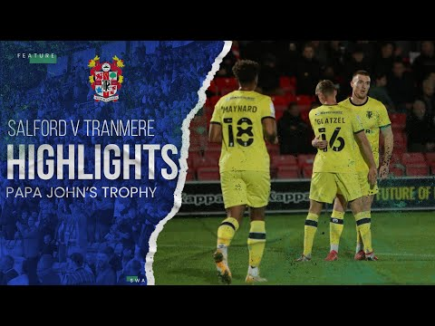 Salford Tranmere Goals And Highlights
