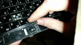 Как вставить обратно клавишу пробел в клавиатуру ноутбука/нетбука