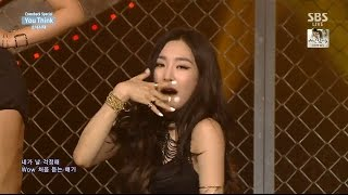 150825 [Full HD] SNSD-You Think (Close-Up Ver.) @ All Music Shows