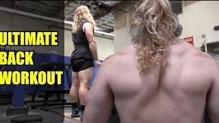 THE ULTIMATE DEADLIFT / BACK WORKOUT - Alan Thrall Training VLOG