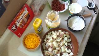 How To Make Loaded Baked Potato Salad