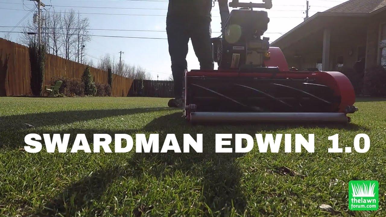 Swardman Reel Mower | February 2018